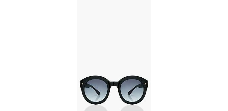 Image Rosie Black Frame Oversized Sunglasses