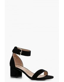 Abigail Ankle Band Low Block Heel 2 Parts afbeelding