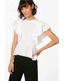 Aimee Frill Woven Top afbeelding