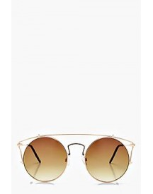 Aleena Brow Bar Round Sunglasses afbeelding