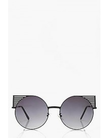 Alice Metal Detail Round Sunglasses afbeelding