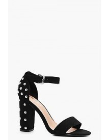 Alice Studded Back Two Part Block Heel afbeelding