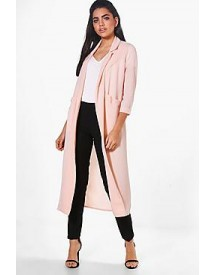 Alicia Woven Longline Pocket Duster afbeelding