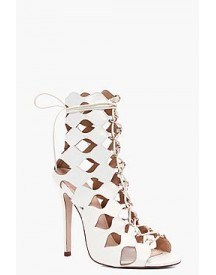 Alisha Cage Ghillie Lace Up Heels afbeelding