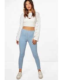 Amelle Turn Up Pocket Back Jeggings afbeelding