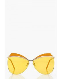 Amy Coloured Lense Browband Sunglasses afbeelding