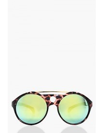 Anna Brow Bar Rounded Sunglasses afbeelding