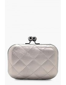 Anna Quilted Box Clutch afbeelding