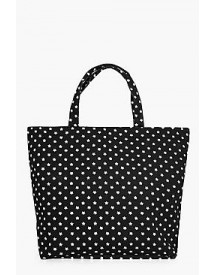 Anna Star Print Beach Bag afbeelding