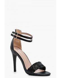 Charlotte Double Band Barely There Heels afbeelding