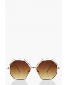 Cut Out Retro Sunglasses afbeelding