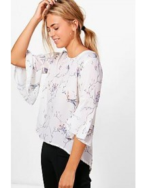 Cynthia Printed Blouse afbeelding