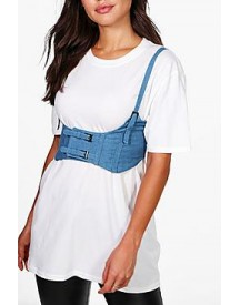 Daisy Double Buckle Strappy Corset Belt afbeelding