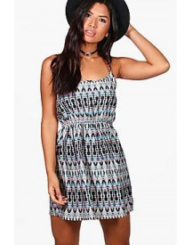 Fay Printed Strappy Sundress afbeelding