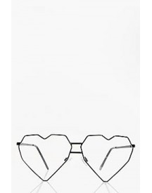 Faye Heart Metal Prone Sunglasses afbeelding