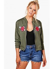 Fiona Embroidered Bomber Jacket afbeelding