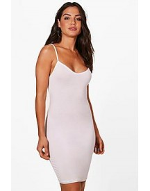 Freida Basic Strappy Cami Bodycon Dress afbeelding