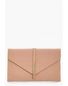 Freya Metal Rod Envelope Clutch afbeelding