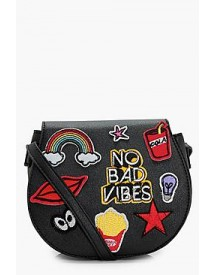 Girls No Bad Vibes Cross Body Bag afbeelding