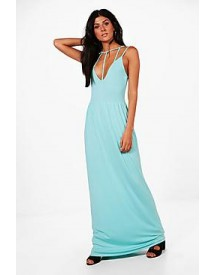 Harriet Caged Front Maxi Dress afbeelding