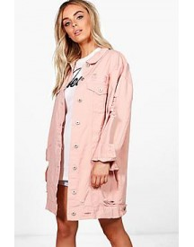 Harriet Oversized Distressed Jacket afbeelding