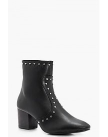 Harriet Stud Detail Ankle Boot afbeelding