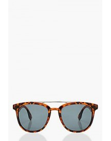 Heather Tortoiseshell Brow Bar Sunglasses afbeelding
