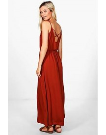 Helena Strappy Back Maxi Dress afbeelding