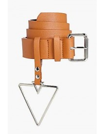 Holly Triangle Buckle Detail Belt afbeelding