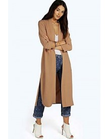 Isabella Turn Up Cuff Duster Coat afbeelding