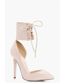 Isobel Lace Up Ankle Band Court Stiletto afbeelding