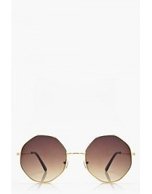 Ivy Angular Frame Ombre Sunglasses afbeelding