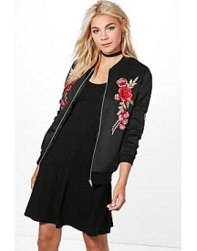 Joanna Embroidered Bomber Jacket afbeelding