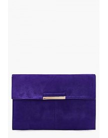 Kirsten Suedette Coloured Clutch afbeelding