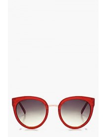 Lacey Plastic Oversize Sunglasses afbeelding