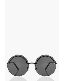 Laura Frameless Multi Edge Sunglasses afbeelding
