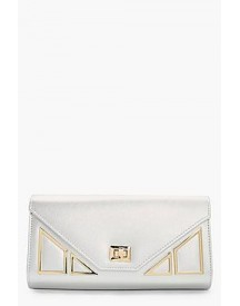 Lily Geo Hardware Clutch afbeelding