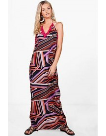 Lisa Tassle Trim Maxi Dress afbeelding
