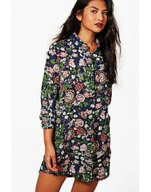 Lucinda Floral Shirt Dress afbeelding