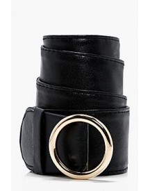 Lucy Circle Buckle Loop Through Belt afbeelding
