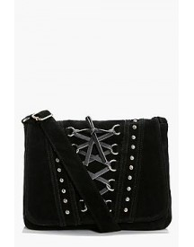Lucy Corset And Stud Cross Body Bag afbeelding