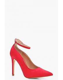 Lucy Pointed Toe Ankle Band Court afbeelding