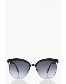 Macy Retro Arm Mixed Frame Sunglasses afbeelding