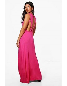 Maddison Keyhole Detail Maxi Dress afbeelding