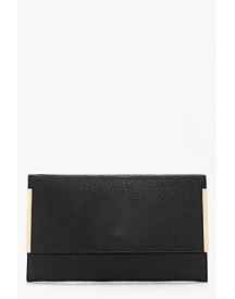 Maddison Metal Detail Clutch Bag afbeelding
