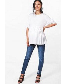 Maternity Eva Under The Bump Ankle Grazer Jean afbeelding