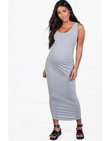 Maternity Sara Basic Midaxi Dress afbeelding