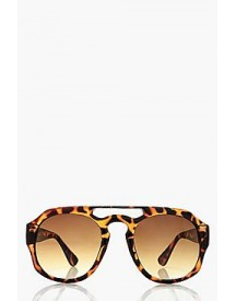 Megan Tortoishell Bridge Sunglasses afbeelding