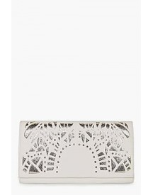 Molly Deco Lazercut Clutch Bag afbeelding