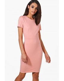 Molly Fitted Tailored Scuba Dress afbeelding